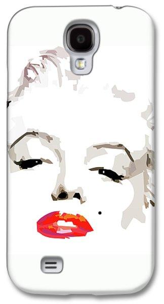 Marilyn Monroe Minimalist Galaxy S4 Case by Quim Abella