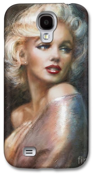 Marilyn Ww Soft Galaxy S4 Case by Theo Danella