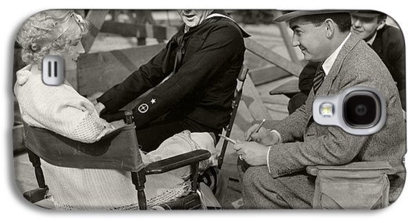 Behind The Scenes Photographs Galaxy S4 Cases - Marion Davies and William Haines Galaxy S4 Case by Sad Hill Archive