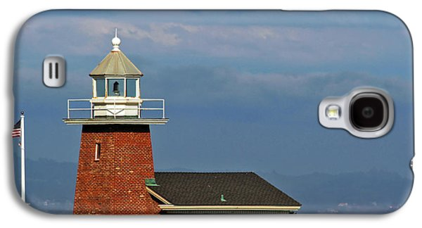 Steamer Lane Galaxy S4 Cases - Mark Abbott Memorial Lighthouse California - The worlds oldest surfing museum Galaxy S4 Case by Christine Till