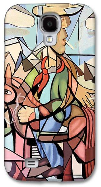 Shower Digital Galaxy S4 Cases - Marlboro Man Galaxy S4 Case by Anthony Falbo