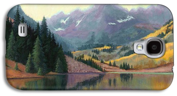 Maroon Bells In October Galaxy S4 Case by Janet King