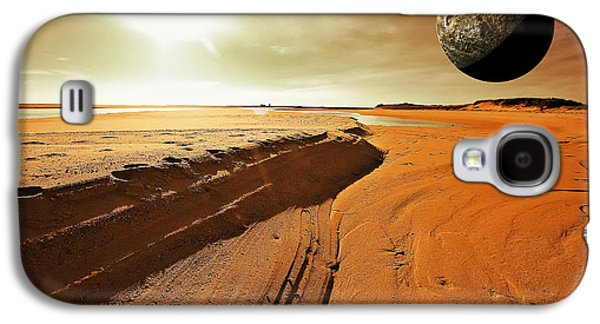 Sun Galaxy S4 Cases - Mars Galaxy S4 Case by Dapixara Art