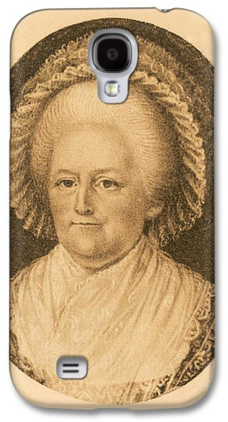 First Lady Galaxy S4 Cases - Martha Washington, American Patriot Galaxy S4 Case by Photo Researchers