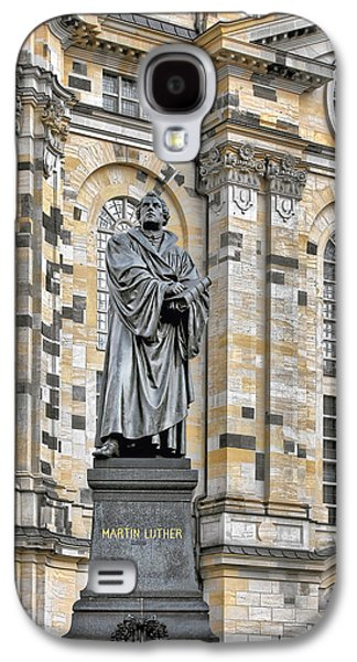 Deutschland Galaxy S4 Cases - Martin Luther Monument Dresden Galaxy S4 Case by Christine Till