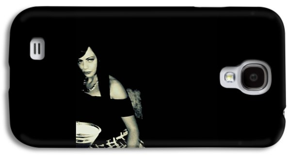 Youthful Mixed Media Galaxy S4 Cases - Martine Galaxy S4 Case by Frances Lewis