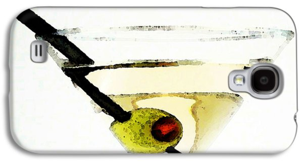 Martini With Green Olive Galaxy S4 Case by Sharon Cummings
