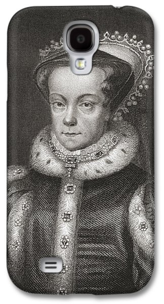 Mary I, 1516 Galaxy S4 Case by Vintage Design Pics