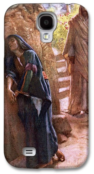Mary Magdalene At The Sepulchre Galaxy S4 Case by Harold Copping