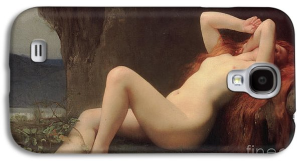 Prostitutes Paintings Galaxy S4 Cases - Mary Magdalene in the Cave Galaxy S4 Case by Jules Joseph Lefebvre