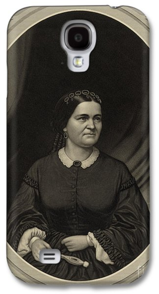 Mary Todd Lincoln, First Lady Galaxy S4 Case by Science Source