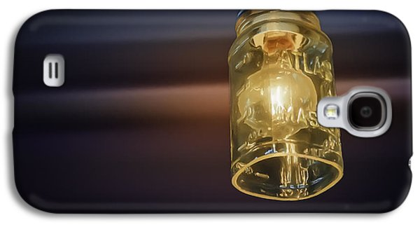 Mason Jars Galaxy S4 Cases - Mason Jar Light Galaxy S4 Case by Scott Norris