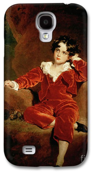 Master Charles William Lambton Galaxy S4 Case by Sir Thomas Lawrence