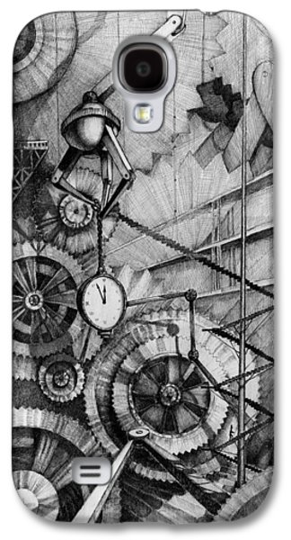 Mechanism Galaxy S4 Cases - Master of Time Galaxy S4 Case by Alena Kaz