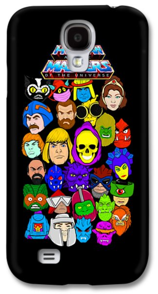 Masters Of The Universe Collage Galaxy S4 Case by Gary Niles