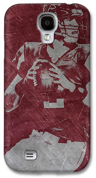 Matt Ryan Atlanta Falcons Galaxy S4 Case by Joe Hamilton