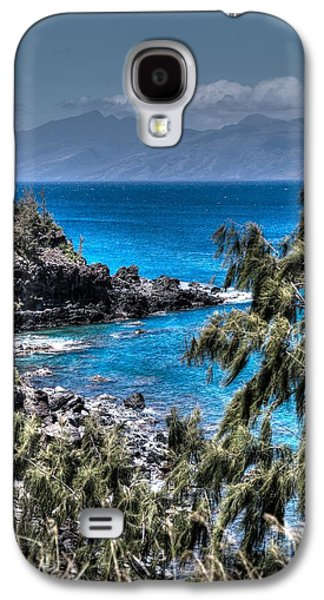 Beach Landscape Galaxy S4 Cases - Maui View Galaxy S4 Case by DayDream Images by Nancy Tsuzaki