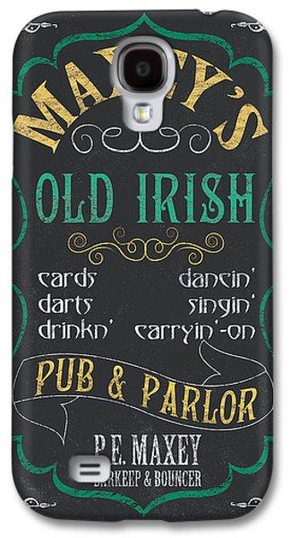 Maxey's Old Irish Pub Galaxy S4 Case by Debbie DeWitt