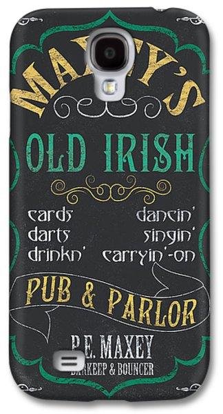 Singing Galaxy S4 Cases - Maxeys Old Irish Pub Galaxy S4 Case by Debbie DeWitt