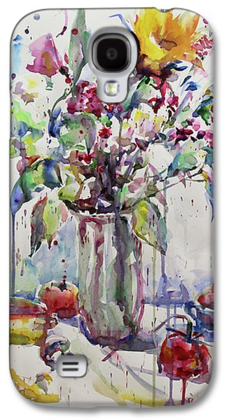 May Watercolor 1602 Galaxy S4 Case by Becky Kim
