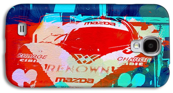 Concept Photographs Galaxy S4 Cases - Mazda Le Mans Galaxy S4 Case by Naxart Studio