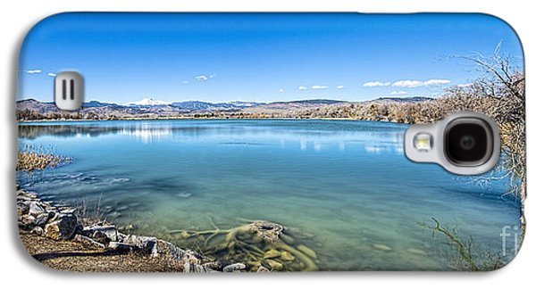 Keith Ducker Galaxy S4 Cases - McCall Reservoir Panorama Galaxy S4 Case by Keith Ducker