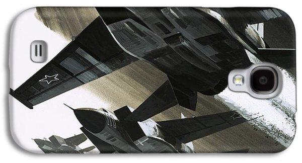Mcdonnell Douglas F15 Eagle Jet Fighter Galaxy S4 Case by Wilf Hardy