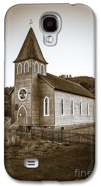 Landmarks Photographs Galaxy S4 Cases - McGowan Church Galaxy S4 Case by Robert Bales