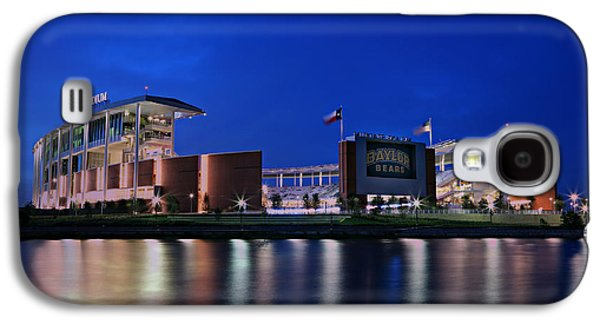 Landmarks Photographs Galaxy S4 Cases - McLane Stadium Evening Galaxy S4 Case by Stephen Stookey