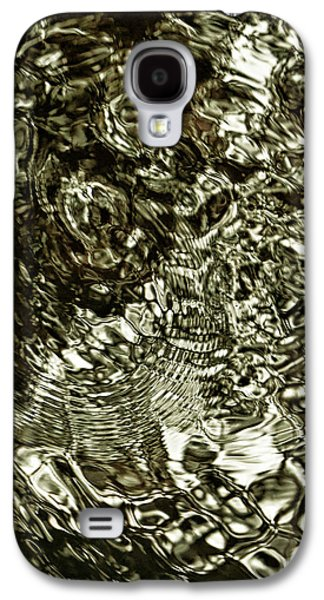 Modern Abstract Pyrography Galaxy S4 Cases - Meditation 2 Galaxy S4 Case by Artist Jacquemo