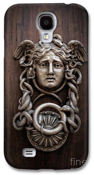 Medusa Head Door Knocker Galaxy S4 Case by Edward Fielding