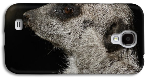 Meerkat Profile Galaxy S4 Case by Ernie Echols