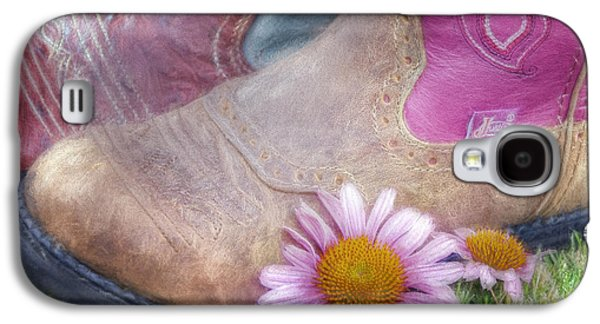 Megaboots 2015 Galaxy S4 Case by Joan Carroll