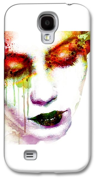 Melancholy In Watercolor Galaxy S4 Case by Marian Voicu