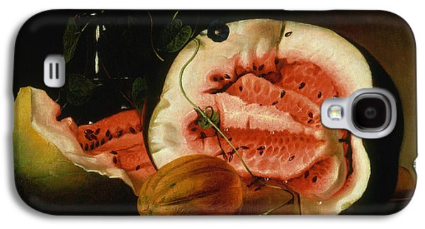 Melons And Morning Glories  Galaxy S4 Case by Raphaelle Peale