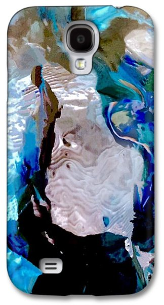 Colorful Abstract Galaxy S4 Cases - Melted Hearts Galaxy S4 Case by Glennis Siverson