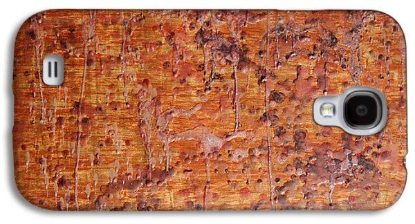 Light Reliefs Galaxy S4 Cases - Melting  Galaxy S4 Case by Ken Figurski