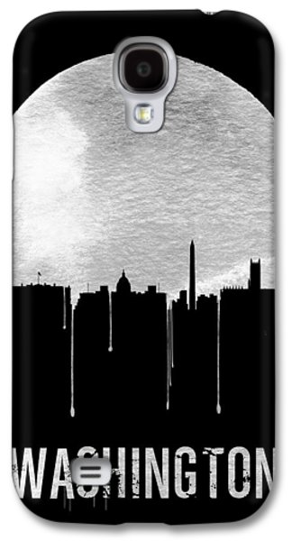 Memphis Skyline Black Galaxy S4 Case by Naxart Studio