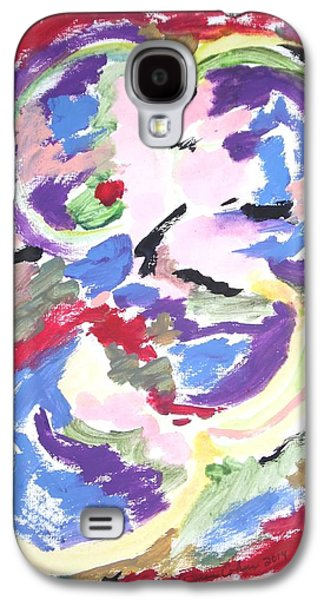 Psychiatry Paintings Galaxy S4 Cases - Mental Preoccupation Galaxy S4 Case by Esther Newman-Cohen