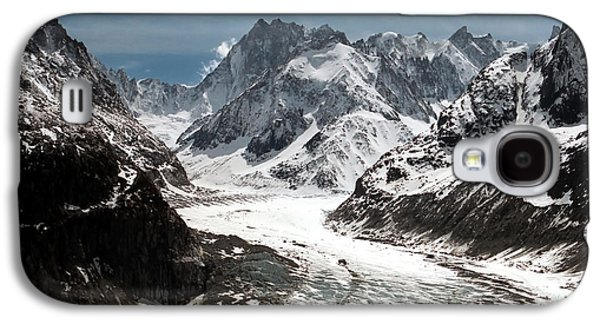 Mer De Glace - Mont Blanc Glacier Galaxy S4 Case by Frank Tschakert