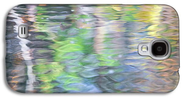 Merced River Reflections 9 Galaxy S4 Case by Larry Marshall
