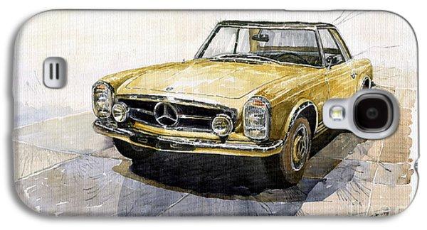 Mercedes Benz W113 Pagoda Galaxy S4 Case by Yuriy  Shevchuk