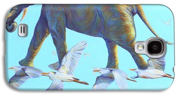 Wandering Star Galaxy S4 Cases - Mercury Galaxy S4 Case by Sarah Soward