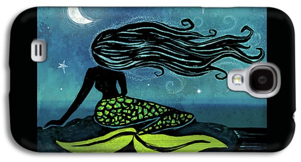 Mermaid Song Galaxy S4 Case by Little Bunny Sunshine