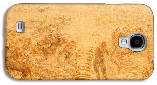 Mermaids Under Water Galaxy S4 Case by Felix Ziem
