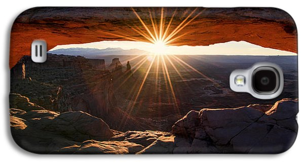 Sun Rays Galaxy S4 Cases - Mesa Glow Galaxy S4 Case by Chad Dutson