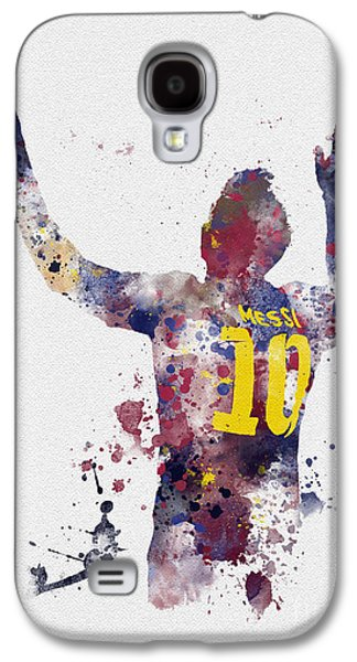 Messi Galaxy S4 Case by Rebecca Jenkins