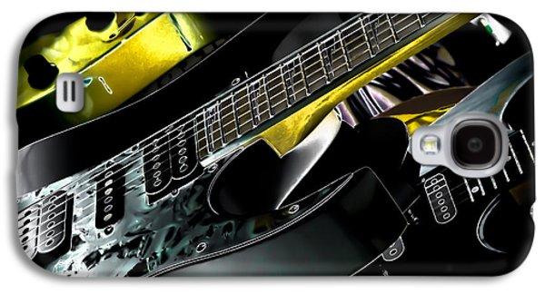 Metallic Guitars Galaxy S4 Case by David Patterson
