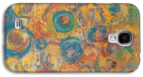 Abstract Movement Galaxy S4 Cases - Metalworks Three Galaxy S4 Case by Marla McPherson