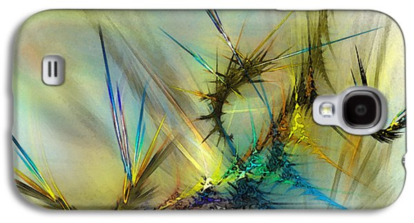 Contemplative Digital Galaxy S4 Cases - Metamorphosis Galaxy S4 Case by Karin Kuhlmann